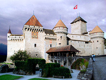 château de chillon switzerland