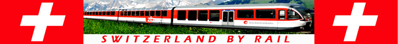 Switzerland By Rail Logo