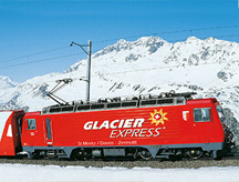 Glacier Express Alps View