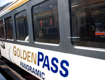 Golden Pass Line Panoramic Car