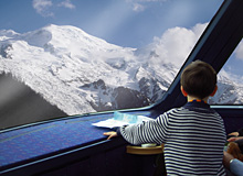 Child Traveling Free with Swiss Pass