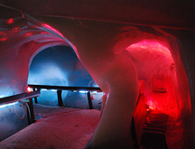 Ice Cave at Mt Titlis