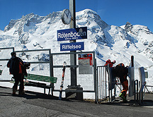 Riffelsee Stop Gornergrat railway