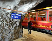 Viewpoint Stop Jungfraubahn  Eiger
