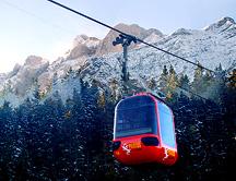 Mt Pilatus Cable Car Gondola