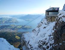 Mt Pilatus Lake Lucerne View