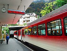 Mt Rigi Railway Station Vitznau