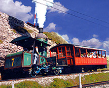 Steam Engine Mt Rigi Railway