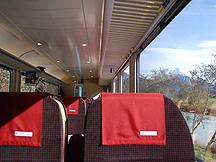 Seats on Zentralbahn