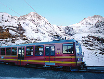 Jungfrau Alps Scenic Excursion Train