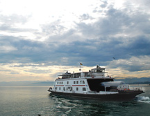 Ferry on Bodensee Lake Constance