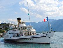 Paddle Steamer Cruise Ship Lake Geneva