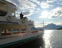 Lake Lucerne Cruise r Sundown