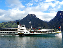 Lake Thun Steamer