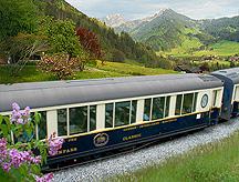 Golden Pass Classic Train in Scenery