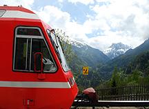 Mont Blanc Pass Scenic View